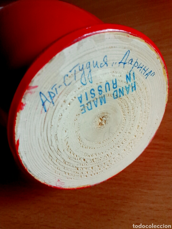 Coleccionismo de Coca-Cola y Pepsi: Muñeca rusa Matrioshka publicidad Coca-Cola Juegos de invierno Sochi 2014 Rusia - Coke Cocacola - Foto 9 - 91455724