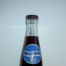 Coleccionismo de Coca-Cola y Pepsi: BOTELLA PEPSI COLA MUNDIAL ARGENTINA 1978 LLENA. Lote 91579115