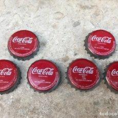 Coleccionismo de Coca-Cola y Pepsi: CHAPAS DE COCACOLA. Lote 91653059