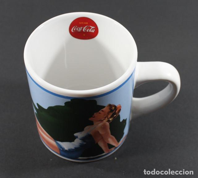 Coleccionismo de Coca-Cola y Pepsi: BONITA TAZA VINTAGE COCA COLA 10 CM ALTO, PRODUCTO OFICIAL COCACOLA VASO - Foto 3 - 92092000
