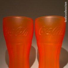Coleccionismo de Coca-Cola y Pepsi: LOTE DE 2 VASOS DE COCA COLA DE MCDONALD. Lote 92977080