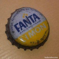 Coleccionismo de Coca-Cola y Pepsi: CHAPA CORONA - FANTA LIMÓN - AÑOS 80´S - BUEN ESTADO DE CONSERVACIÓN. Lote 93338680