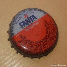 Coleccionismo de Coca-Cola y Pepsi: CHAPA CORONA - FANTA NARANJA - AÑOS 80´S - BUEN ESTADO DE CONSERVACIÓN. Lote 93338750