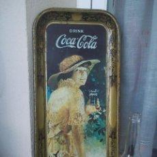 Coleccionismo de Coca-Cola y Pepsi: ESPECTACULAR Y UNICA EN TODOCOLECCION BANDEJA COCA COLA AÑOS 50 OLD TRAY COKE. Lote 93609285