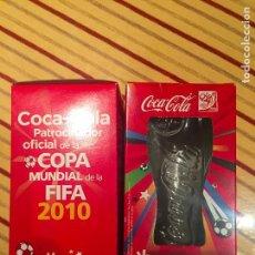 Coleccionismo de Coca-Cola y Pepsi: DOS VASOS COCA COLA FIFA 2010, NUEVOS. Lote 93978500