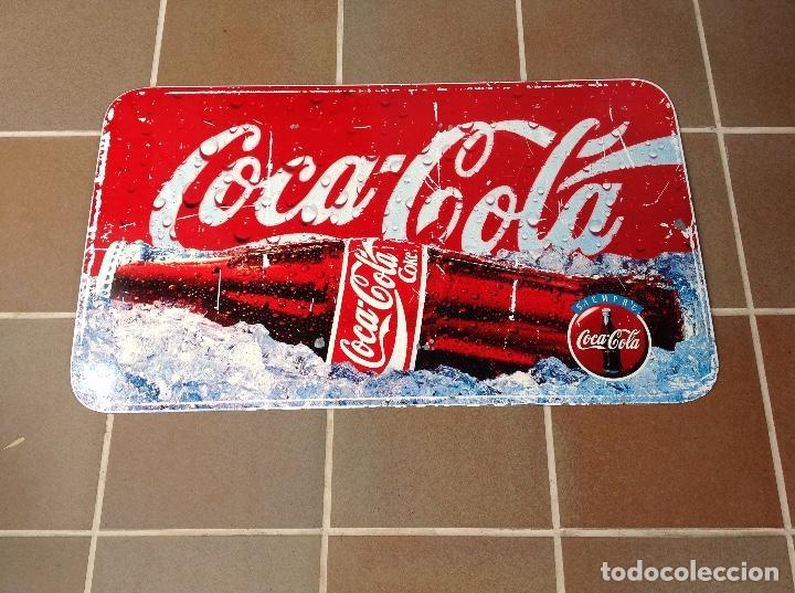 CHAPA COCA COLA DOBLE CARA CAMPAÑA SIEMPRE AÑOS 90 (Coleccionismo - Botellas y Bebidas - Coca-Cola y Pepsi)
