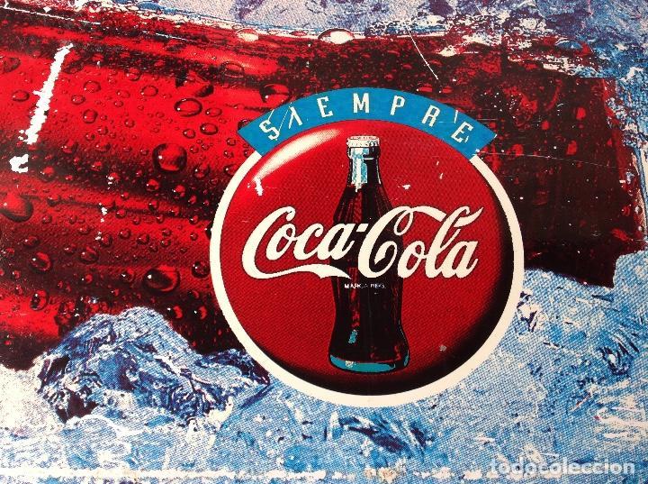 Coleccionismo de Coca-Cola y Pepsi: CHAPA COCA COLA DOBLE CARA CAMPAÑA SIEMPRE AÑOS 90 - Foto 2 - 94709427