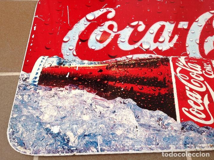 Coleccionismo de Coca-Cola y Pepsi: CHAPA COCA COLA DOBLE CARA CAMPAÑA SIEMPRE AÑOS 90 - Foto 5 - 94709427