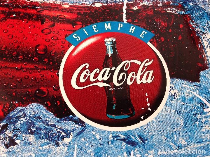 Coleccionismo de Coca-Cola y Pepsi: CHAPA COCA COLA DOBLE CARA CAMPAÑA SIEMPRE AÑOS 90 - Foto 6 - 94709427