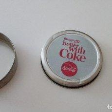 Coleccionismo de Coca-Cola y Pepsi: CAJA-98 LOTE CAJA VACIA COCA COLA - PAPÁ NOEL - NAVIDAD - METÁLICOS CAJA-98 . Lote 95400007
