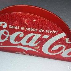 Coleccionismo de Coca-Cola y Pepsi: SERVILLETERO COCA COLA DE ARGENTINA. Lote 130380463