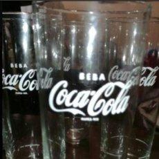 Coleccionismo de Coca-Cola y Pepsi: LOTE 6 VASOS COCACOLA AÑOS 80. Lote 95776872