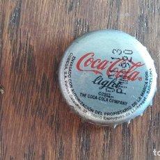 Coleccionismo de Coca-Cola y Pepsi: CHAPA DE COCA COLA LIGHT. Lote 95832343