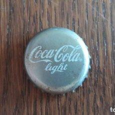 Coleccionismo de Coca-Cola y Pepsi: CHAPA DE COCA COLA LIGHT. Lote 95832367