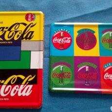 Coleccionismo de Coca-Cola y Pepsi: LOTE DE DOS POSAVASOS DE COCACOLA. Lote 95977751