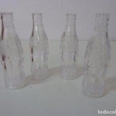 Coleccionismo de Coca-Cola y Pepsi: LOTE DE 4 SALEROS. PIMENTERO. BOTELLAS DE COCA COLA. Lote 96129395
