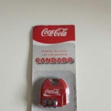 Coleccionismo de Coca-Cola y Pepsi: CANDADO COCACOLA COCA COLA. Lote 96919420