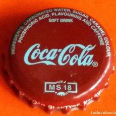 Coleccionismo de Coca-Cola y Pepsi: TAPÓN CORONA - CHAPA COCA COLA - REPÚBLICA DE MALAWI (ÁFRICA ORIENTAL). Lote 96922027