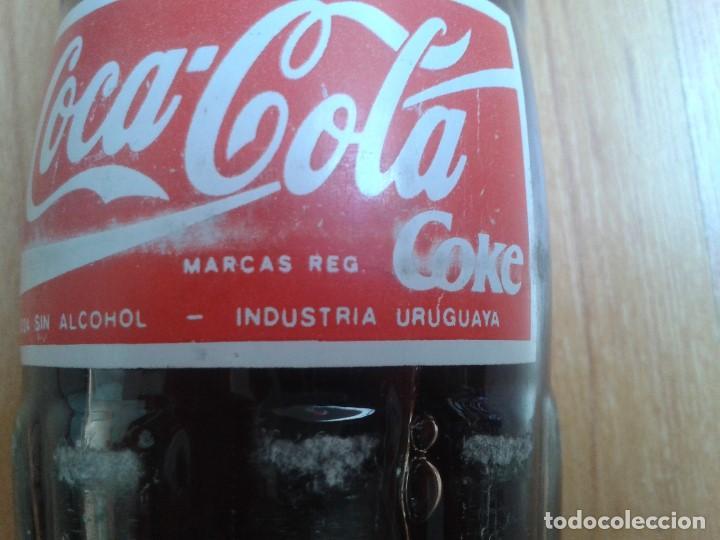 Coleccionismo de Coca-Cola y Pepsi: Botella coca cola -- Industria Uruguaya -- 285 ml -- 2003 -- - Foto 6 - 97237871