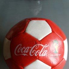 Coleccionismo de Coca-Cola y Pepsi: BALÓN PROMOCIONAL COCA COLA MUNDIAL BRASIL 2014. Lote 97813043