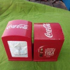 Coleccionismo de Coca-Cola y Pepsi: DOS SERVILLETEROS DE COCA-COLA. Lote 98458895