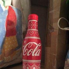 Coleccionismo de Coca-Cola y Pepsi: BOTELLA COCA COLA ALUMINIO , FRANCIA , LLENA. Lote 98715179