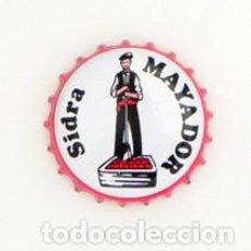 Coleccionismo de Coca-Cola y Pepsi: CHAPA DE SIDRA MAYADOR - ESPAÑA - ESPAÑOLA. Lote 98782535