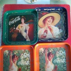 Coleccionismo de Coca-Cola y Pepsi: 4 POSA VASOS COCA-COLA. . Lote 98783727