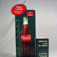 Coleccionismo de Coca-Cola y Pepsi: EXPOSITOR SERVILLETERO PUBLICIDAD COCA COLA 350 ML. LA GRANDE. Lote 99886551
