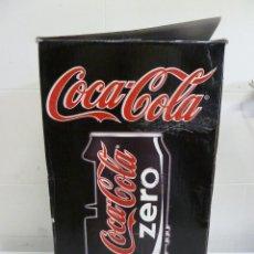 Coleccionismo de Coca-Cola y Pepsi: LATA DE COCA COLA ZERO - REPRODUCTOR DE CD Y DVD. Lote 100333659