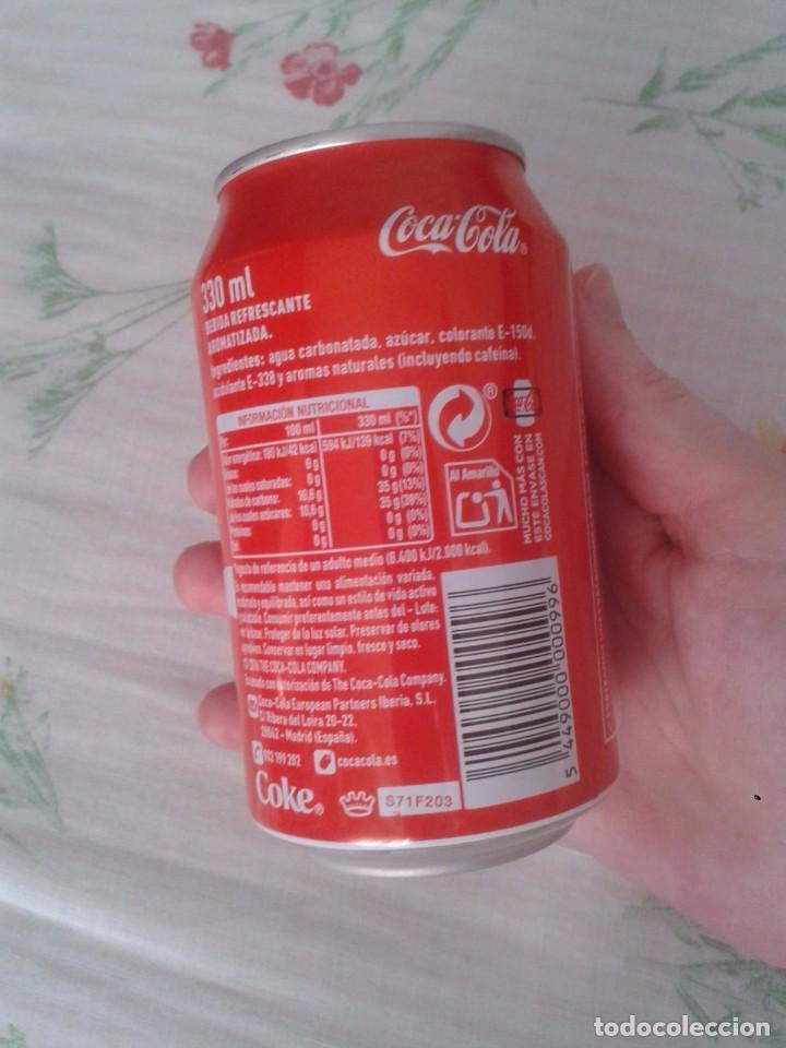 Coleccionismo de Coca-Cola y Pepsi: LATA DE COCA COLA COCACOLA COMPARTE UNA FRÍA LIGHT EN LOS ÁNGELES CALIFORNIA USA VER FOTO/S - Foto 2 - 101065607