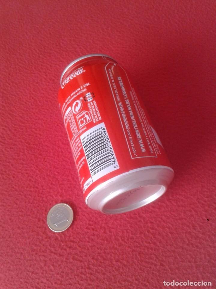 Coleccionismo de Coca-Cola y Pepsi: LATA DE COCA COLA COCACOLA COMPARTE UNA FRÍA LIGHT EN LOS ÁNGELES CALIFORNIA USA VER FOTO/S - Foto 5 - 101065607