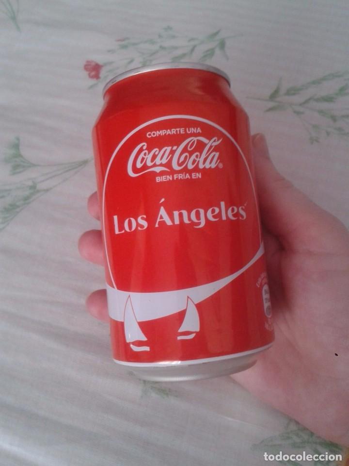 Coleccionismo de Coca-Cola y Pepsi: LATA DE COCA COLA COCACOLA COMPARTE UNA FRÍA LIGHT EN LOS ÁNGELES CALIFORNIA USA VER FOTO/S - Foto 6 - 101065607