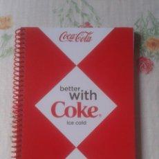 Coleccionismo de Coca-Cola y Pepsi: LIBRETA TIPO GUSANILLO CUADERNO O SIMILAR PUBLICIDAD COCACOLA COCA COLA COKE VER FOTOS Y DESCRIPCIÓN. Lote 101066411