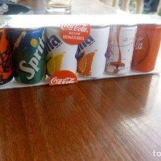Coleccionismo de Coca-Cola y Pepsi: MINIATURAS LATAS FABRICACIÓN COCA-COLA. Lote 101162251