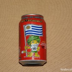 Coleccionismo de Coca-Cola y Pepsi: LATA COCA COLA - EDICIÓN ESPECIAL EUROCOPA AÑO 2012 - URUGUAY COCACOLA. Lote 101391239