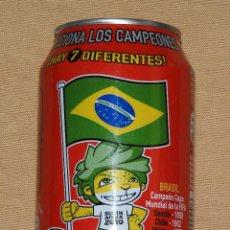 Coleccionismo de Coca-Cola y Pepsi: LATA COCA COLA - EDICIÓN ESPECIAL EUROCOPA AÑO 2012 - BRASIL COCACOLA. Lote 101391599