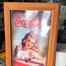 Coleccionismo de Coca-Cola y Pepsi: CARTEL DE PUBLICIDAD DE COCACOLA - COCA COLA. Lote 101928915