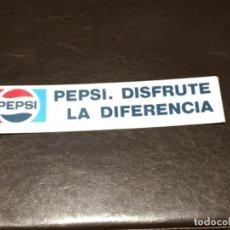 Coleccionismo de Coca-Cola y Pepsi: CARTEL CHAPA PEPSI. Lote 101942083