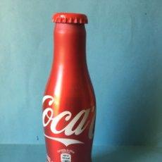 Coleccionismo de Coca-Cola y Pepsi: BOTELLA DE COCACOLA SIN ABRIR. COCA COLA DE ALUMINIO. 250ML. Lote 103125816