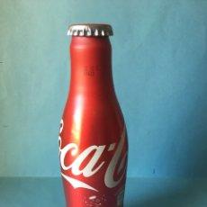 Coleccionismo de Coca-Cola y Pepsi: BOTELLA COCA COLA DE ALUMINIO 125 ANIVERSARIO. COCACOLA SIN ABRIR.. Lote 103125970
