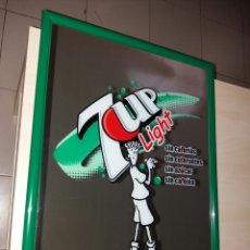 Coleccionismo de Coca-Cola y Pepsi: ANTIGUO CUADRO ESPEJO 7-UP LIGHT - FIDO DIDO. Lote 131913433