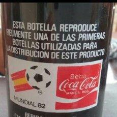 Coleccionismo de Coca-Cola y Pepsi: COCA-COLA LA BOTELLA MUNDIAL 82.. Lote 103278807