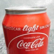 Coleccionismo de Coca-Cola y Pepsi: LATA VACÍA DE COCA-COLA LIGHT · COMPARTE UNA COCA-COLA BIEN FRÍA EN CANCÚN. Lote 103955739