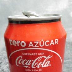 Coleccionismo de Coca-Cola y Pepsi: LATA VACÍA DE COCA-COLA ZERO · COMPARTE UNA COCA-COLA BIEN FRÍA EN IBIZA. Lote 103956503