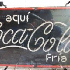 Coleccionismo de Coca-Cola y Pepsi: GRAN CARTEL LUMINOSO DE COCACOLA. FUNCIONANDO. Lote 104115591