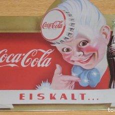 Coleccionismo de Coca-Cola y Pepsi: PLACA O CHAPA COCA COLA. Lote 104119371