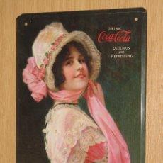 Coleccionismo de Coca-Cola y Pepsi: PLACA O CHAPA COCA COLA. Lote 104119667