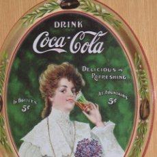 Coleccionismo de Coca-Cola y Pepsi: PLACA O CHAPA COCA COLA. Lote 104120299
