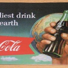 Coleccionismo de Coca-Cola y Pepsi: PLACA O CHAPA COCA COLA. Lote 104121059